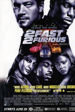 plakat filmu Za szybcy za wściekli, 2 Fast 2 Furious