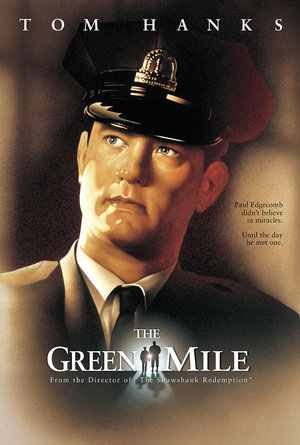 plakat filmu Zielona mila. Tom Hanks