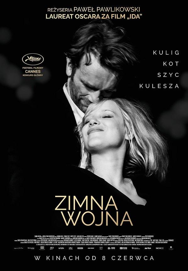 plakat filmu Zimna wojna, Paweł Pawlikowski
