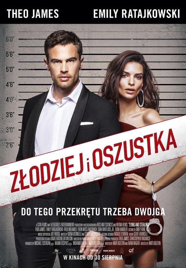 plakat filmu Złodziej i oszustka