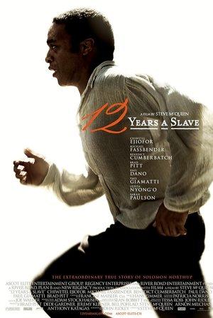 plakat filmu Zniewolony. 12 Years a Slave. Steve McQueen