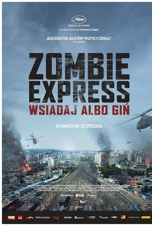 plakat filmu Zombie Express. Mayfly