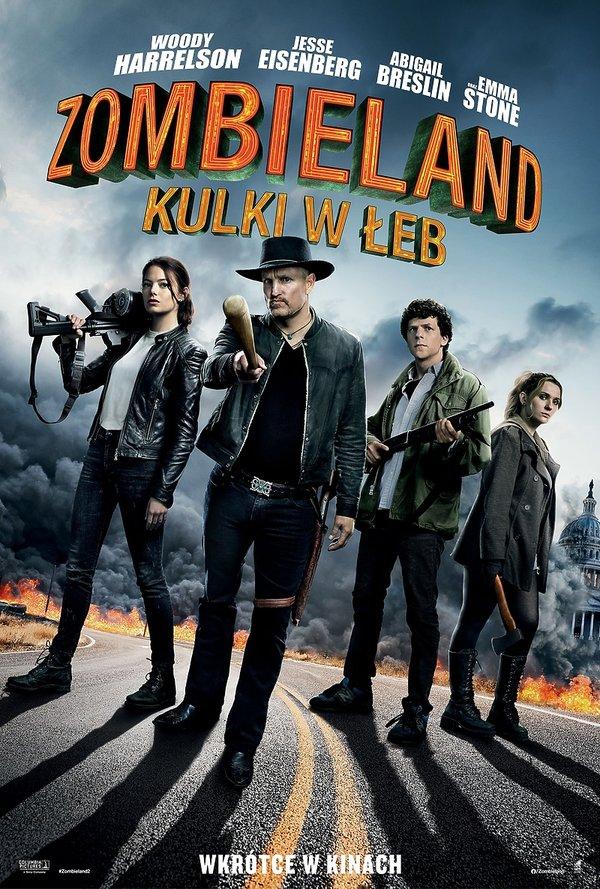 Plakat filmu Zombieland. Kulki w łeb