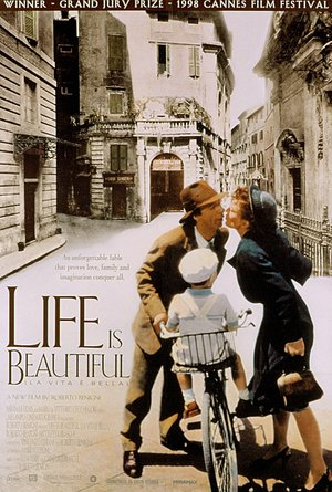 plakat filmu Życie jest piękne