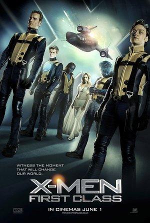 plakat filmy X-Men: Pierwsza klasa