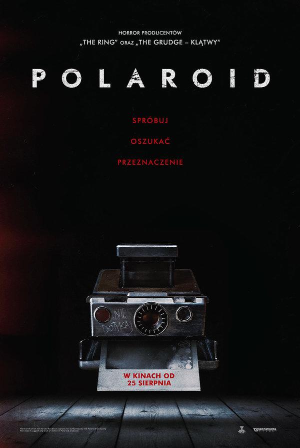 plakat horroru Polaroid