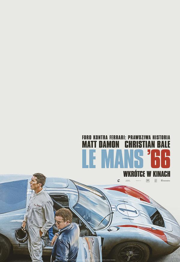 Plakat Le Mans 66