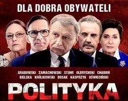 plakat Polityka, film, Patryk Vega