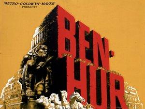 plakat z filmu Ben Hur