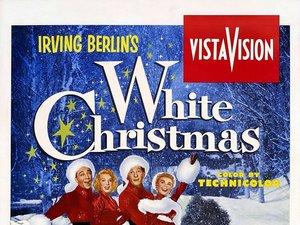 plakat z filmu Białe Boże Narodzenie. Bing Crosby