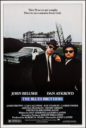 plakat z filmu Blues Brothers