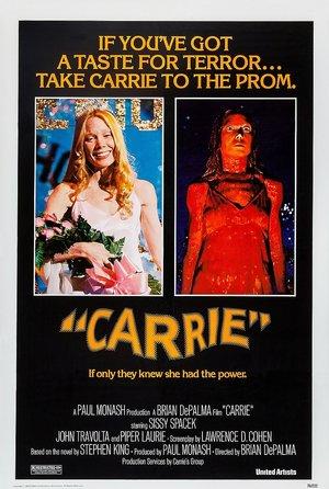 plakat z filmu Carrie (1976), Brian De Palma