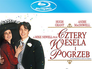plakat z filmu Cztery wesela i pogrzeb. Imperial Cinepix