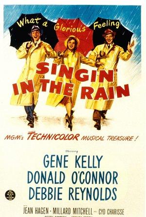 plakat z filmu Deszczowa piosenka