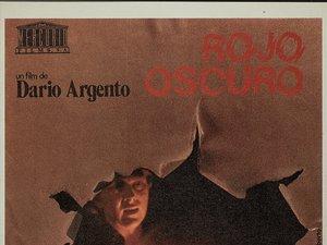 plakat z filmu Głęboka czerwień, Profondo Rosso