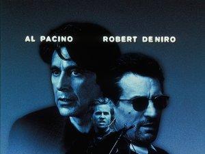 plakat z filmu Gorączka. Michael Mann