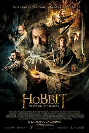 plakat z filmu Hobbit Pustkowie Smauga
