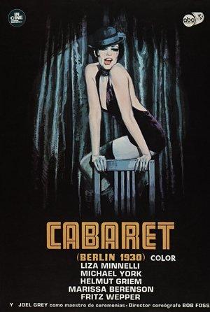 plakat z filmu Kabaret