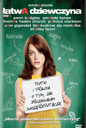 plakat z filmu Łatwa dziewczyna. Imperial Cinepix