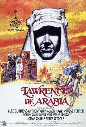 plakat z filmu Lawrence z Arabii