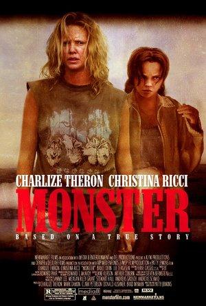 plakat z filmu Monster. Charlize Theron