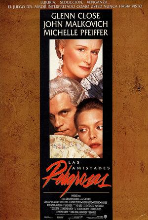 plakat z filmu Niebezpieczne związki