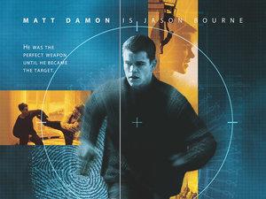 plakat z filmu Tożsamość Bourne'a