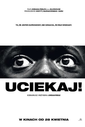 plakat z filmu Uciekaj! United International Pictures, TylkoHity.pl