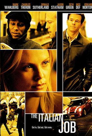 plakat z filmu Włoska robota