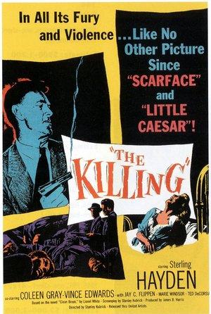 plakat z filmu Zabójstwo. Stanley Kubrick