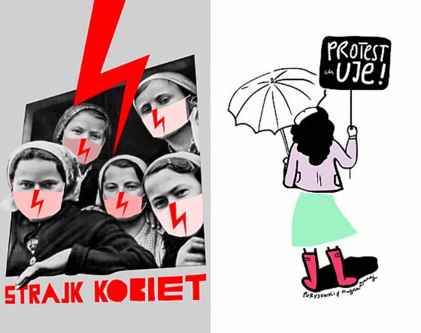 Plakaty strajkowe za darmo