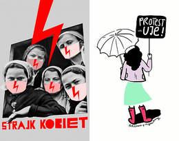 Te plakaty robią furorę w sieci na Strajk Kobiet 2020!