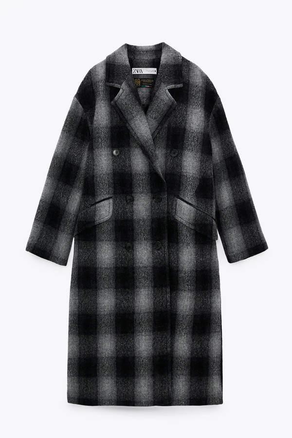 płaszcz mango zima 2021