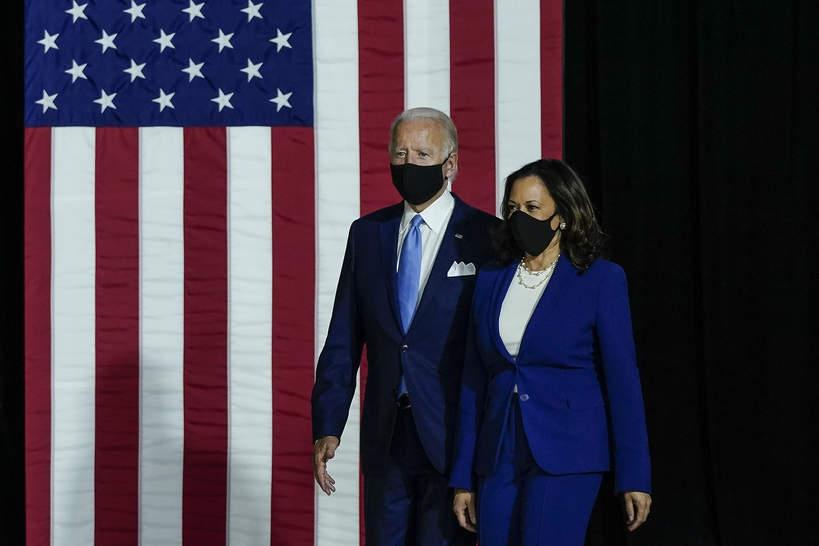 Podsumowanie 2020 na świecie, Joe Biden i Kamala Harris