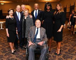 Zdjęcie z pogrzebu Barbary Bush zdobyło ogromną popularność. Dlaczego?