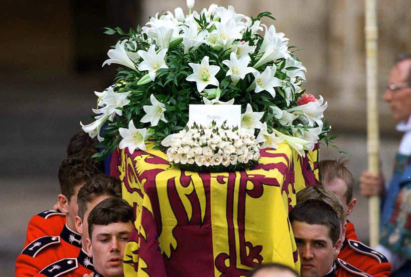 Pogrzeb Diany, trumna, tajemnice