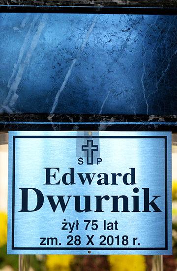 Pogrzeb Edwarda Dwurnika