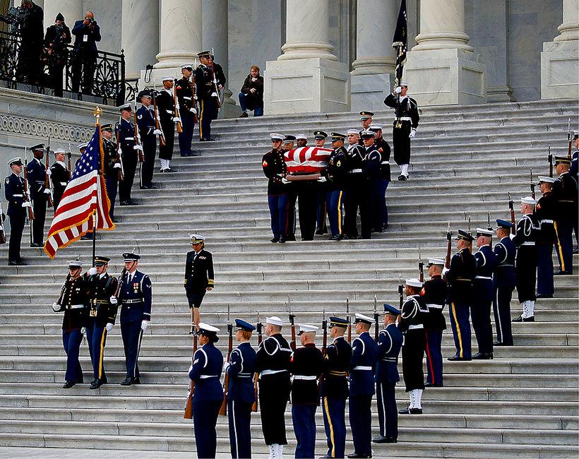 pogrzeb George'a W. Busha seniora