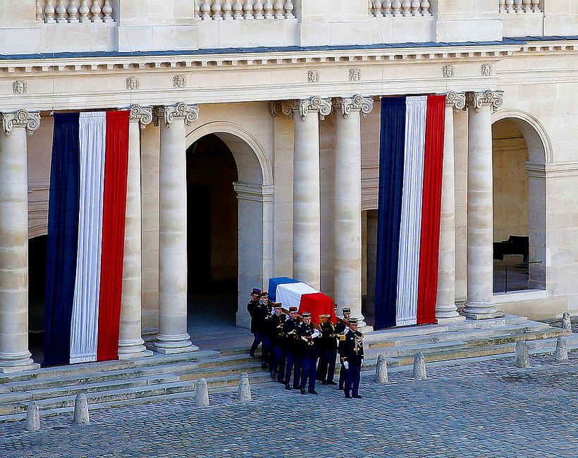 Pogrzeb Jacques Chirac 2019