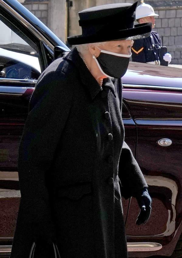 Pogrzeb księcia Filipa królowa Elżbieta II