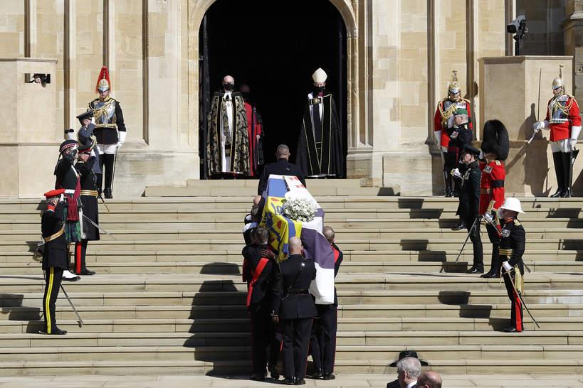 Pogrzeb księcia Filipa trumna