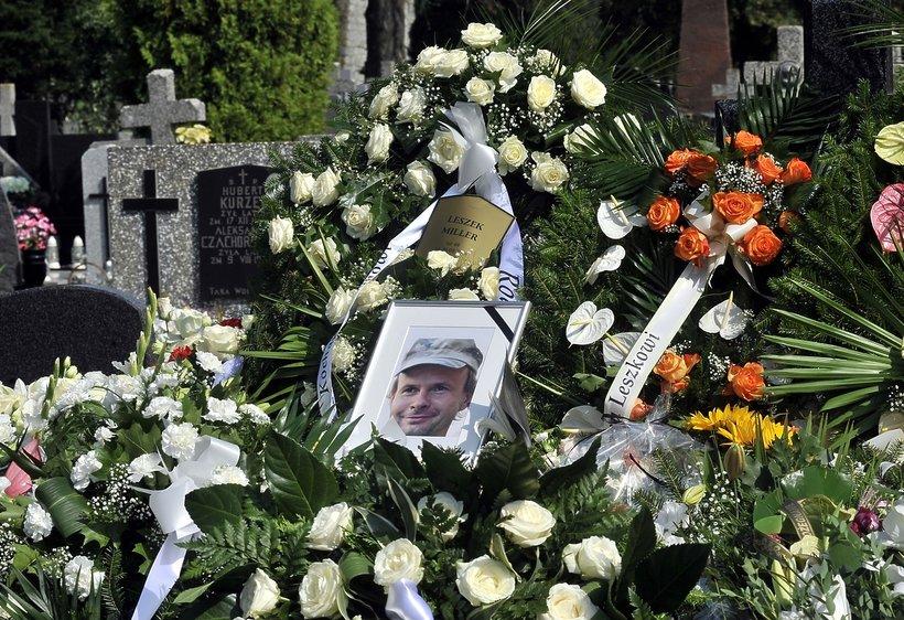 pogrzeb Leszka Millera Juniora, pogrzeb syna Leszka Millera
