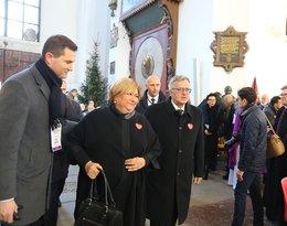 Pogrzeb Pawła Adamowicza, Bronisław Komorowski i Anna Komorowska