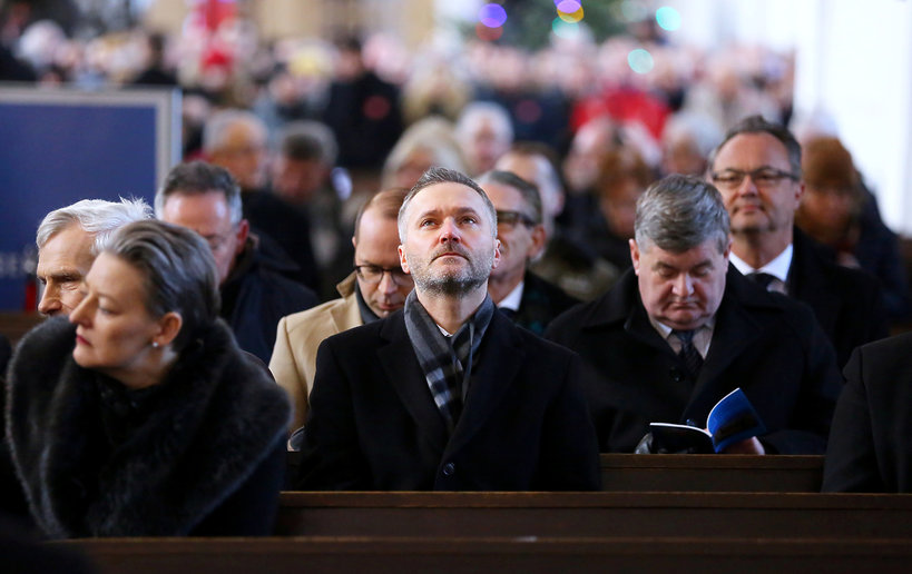 Pogrzeb Pawła Adamowicza, Jarosław Wałęsa