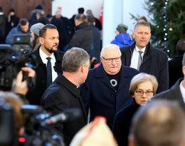 Pogrzeb Pawła Adamowicza, Lech Wałęsa, Danuta Wałęsa