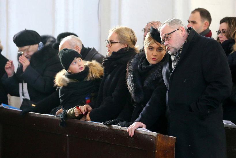 Pogrzeb Pawła Adamowicza, rodzina Pawła Adamowicza