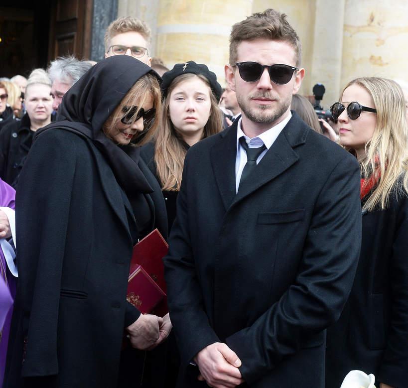 Pogrzeb Pawła Królikowskiego, rodzina