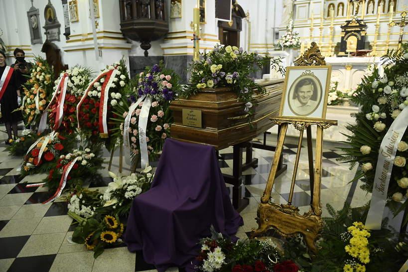 Pogrzeb Wiesława Gołasa