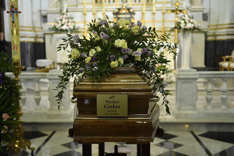 Pogrzeb Wiesława Gołasa, Maria Krawczyk-Gołas