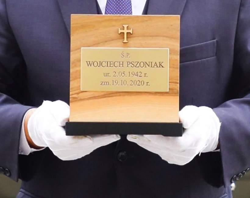 Pogrzeb Wojciech Pszoniak